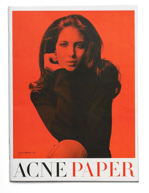 Acne Paper, 1st Issue by Moses Voigt, via Behance