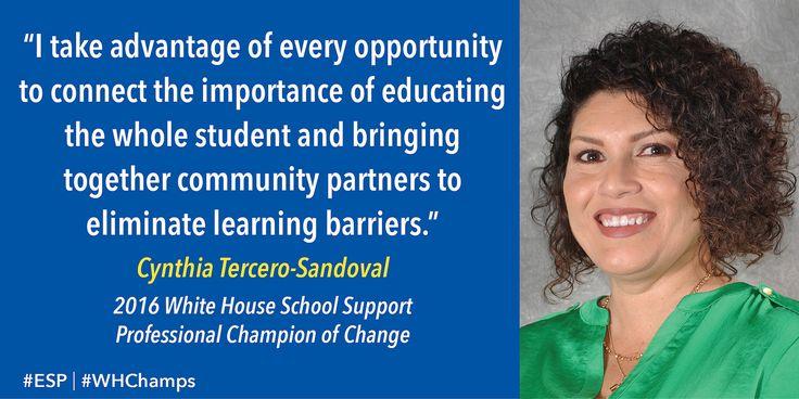 Champions of Change | Cynthia Tercero-Sandoval—Peoria, Arizona
