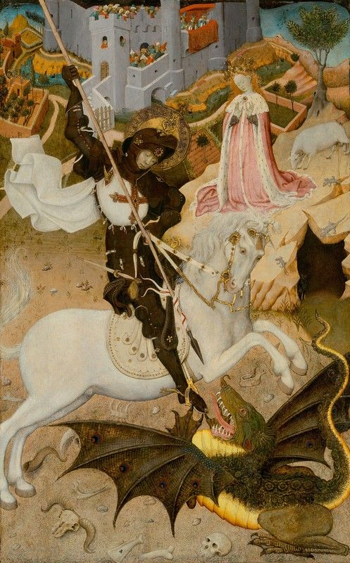 "saint george killing the dragon by bernat martorell essay We will write a custom essay sample on any topic specifically for you for only   essay sample ""saint george killing the dragon"" by bernat martorell essay."