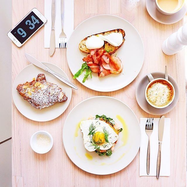 """Instagrammer @jodyy___ shared this """"breakfast perfection"""" from @ryecafe in Braddon. Lonsdale Street in Braddon is the place to be if you're serious about good food. There are enough cafés and restaurants on this dining strip to keep you busy for weeks. #visitcanberra #onegoodthingafteranother"""