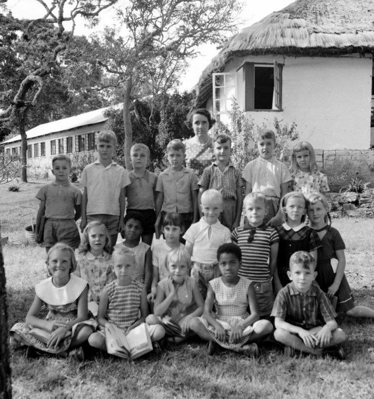 Miss Masterton with the grade ahead of mine, so I'm guessing this is in 1965 or 1966.