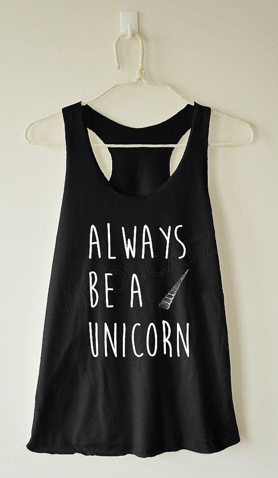 Sempre essere un'unicorno camicia unicorno tshirt di MoodCatz