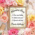 Mimosa Bar - Wedding Sign - Bridal Shower Sign - 8x10 print