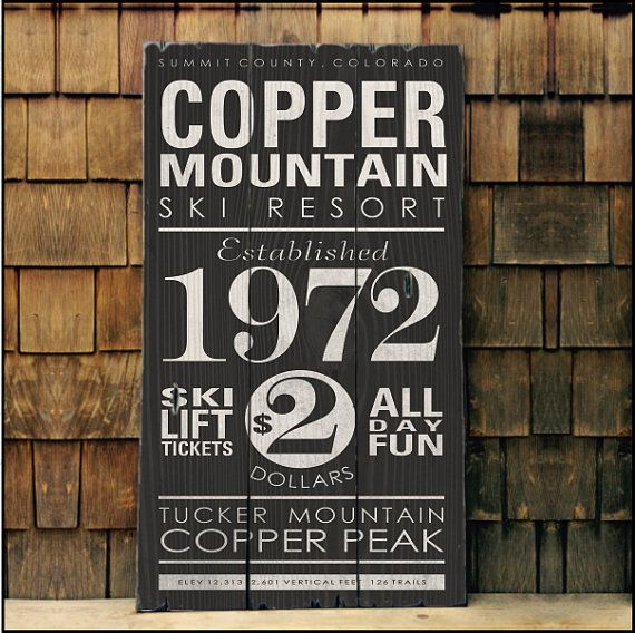 Large Copper Mountain Resort Customizable by AlpineGraphics