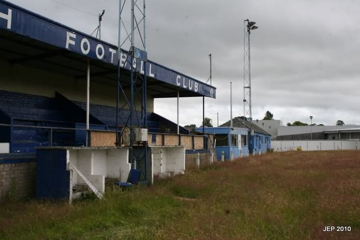 Penrith FC's old ground Southend Rd