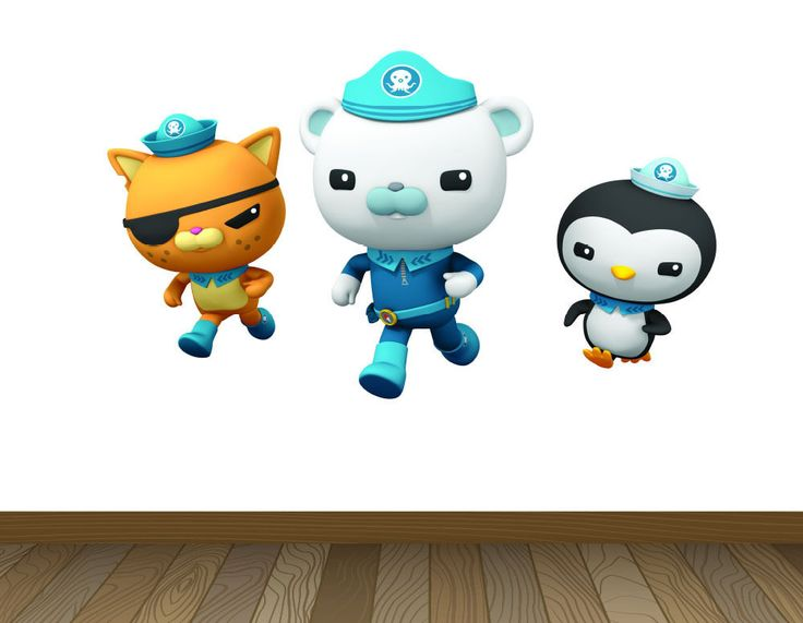 Large Octonauts Wall Stickers Girls Boys Kids Bedroom Wallpaper Art Decor Decal in Home, Furniture & DIY, Children's Home & Furniture, Home Decor   eBay