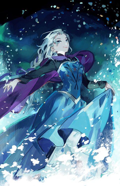 Dude, this Elsa anime!!!
