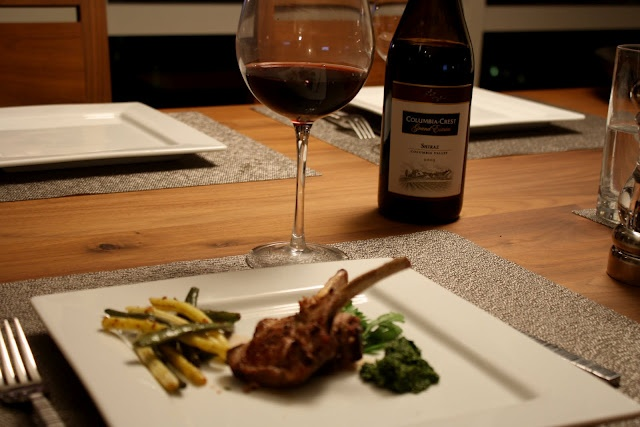 Grilled Lamb Chops with Balsamic Honey Glaze and Mint Pesto | Favorite ...