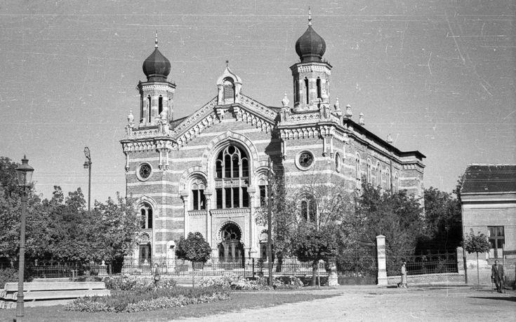 Petőfi tér, Zsinagóga (1958)
