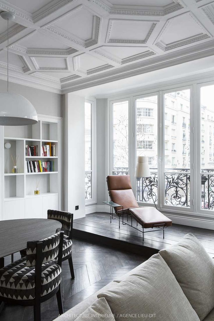 best 25 paris living rooms ideas on pinterest art deco ceiling details window niche with lounge