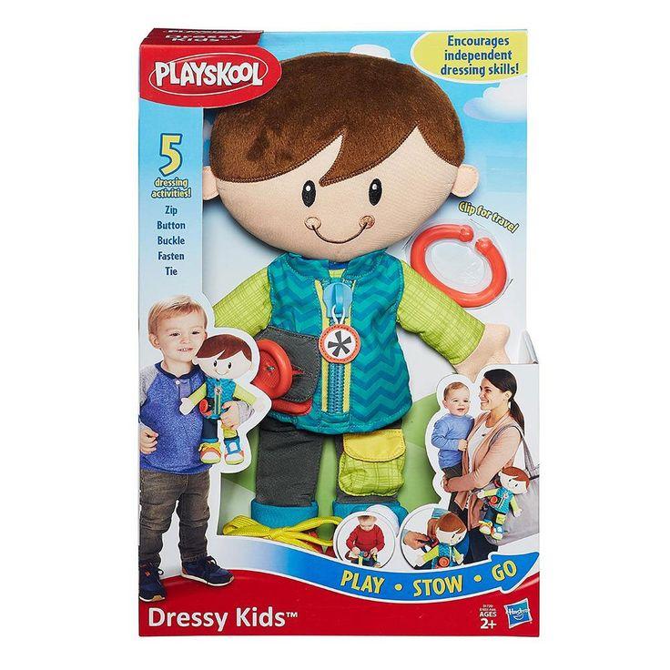 D 98 x W 241 x H 368 mmΗ Bessy & o Dan θα μάθουν τα παιδιά σας να ντύνονται!Διάφοροι ήχοι, φερμουάρ, βέλκρο, αγκράφες θα βοηθήσουν τα παιδιά να αποκτήσουν την ικανότητανα ντύνονται μόνα τους.Φέρτε μαζί σας ένα μαλακό φίλο που του αρέσουν οι αγκαλιές και μπορείτε να τον ντύσετε όπως εσείς θέλετε! Αυτό το αξιολάτρευτο αγαπημένο Playskool διαθέτει μια μοντέρνα εμφάνιση με 5 διασκεδαστικές δραστηριότητες ντυσίματος όπου τα μωράκια σας θέλουν να εξερευνήσουν: φερμουάρ, κουμπί, κούμπωμα, δέσιμο…