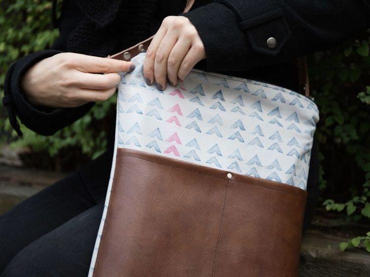 95 besten Bags Bilder auf Pinterest | Taschen nähen, Diy nähen und ...