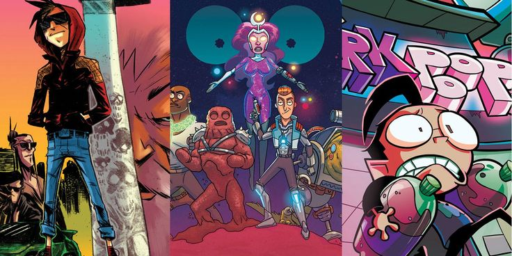 Oni Press' solicitations for March 2018 includes The Ballad of Sang, Rick and Morty Presents: The Vindicators, Invader Zim and more!