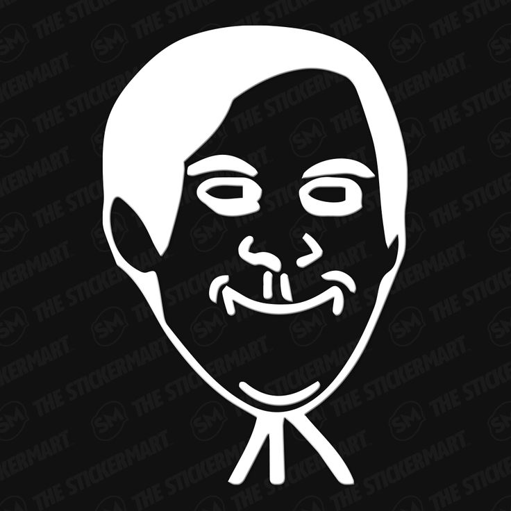 Spiderman / Tobey Maguire Meme Face Vinyl Decal