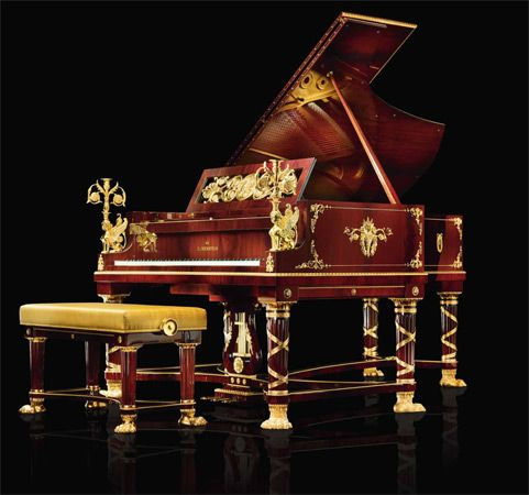 The C. Bechstein Sphinx Grand Piano   Piano Price Point
