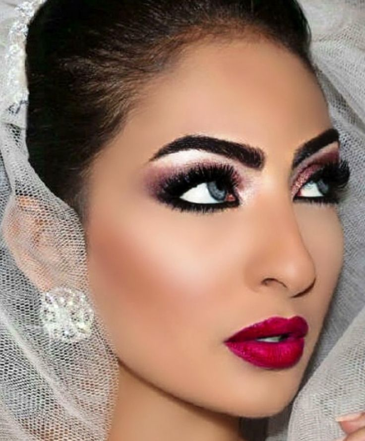 672 Best Indian Amp Asian Bridal Hair Makeup And Accessories Part 1 Images On Pinterest