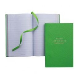 Smythson 'DANCE LIKE NO ONE'S WATCHING' Panama Notebook #Congratulations Gifts http://www.giftgenies.com/presents/mellow-yellow-notebook-mimosa-collection