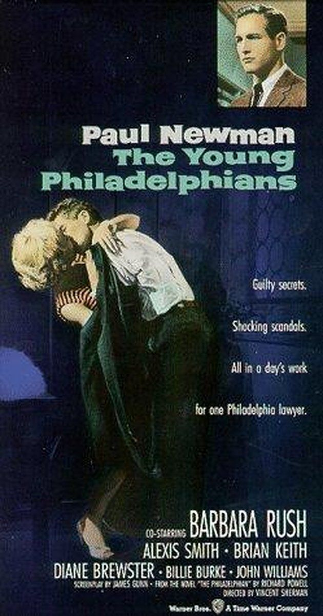 Directed by Vincent Sherman.  With Paul Newman, Barbara Rush, Alexis Smith, Brian Keith. Up and coming, young lawyer Anthony Lawrence faces several ethical and emotional dilemmas as he climbs the Philadelphia social ladder. His personal and professional skills are tested as he tries to balance the needs of his fiance Joan, the expectations of his colleagues and his own obligation to defend his friend Chester on a murder count.
