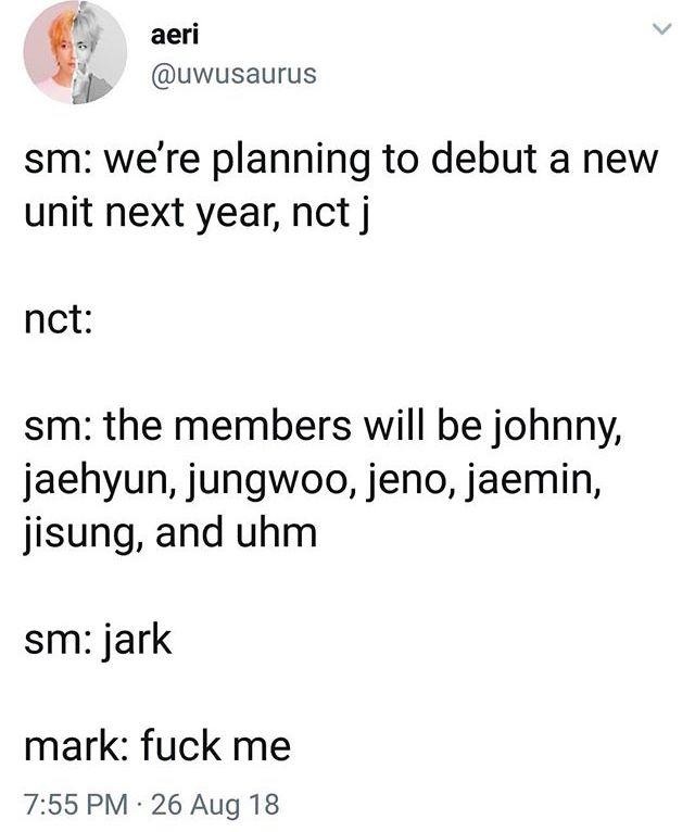 NCT memes ♡ ˗ˏ'pinterest – @satansoosann 🍒 ˎ'