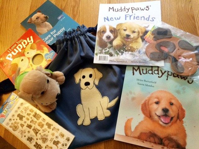 Muddypaws Dog/Puppy Theme Story Sack Bundle by LollyAndCo on Etsy