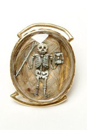 Mourning brooch, 1683.