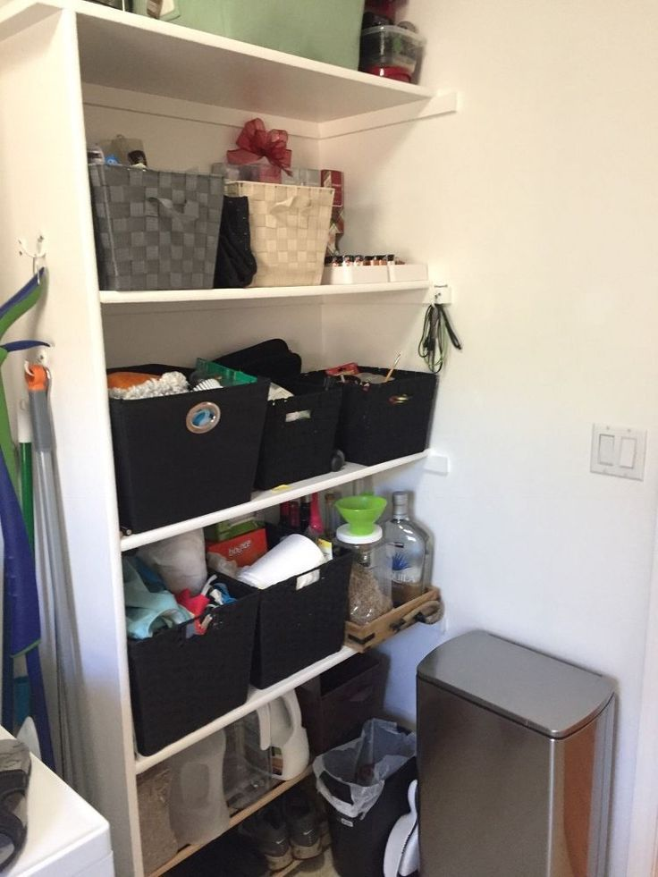 Storage Solutions For Your Small Laundry Room E