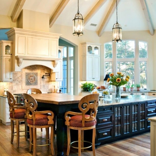 Stylish Two Tone Kitchen Cabinets For Your Inspiration: 25 Best Images About Two Toned Cabinets On Pinterest