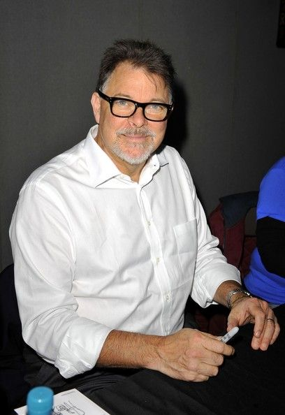 Jonathan Frakes - need I say more? He's a cutie!
