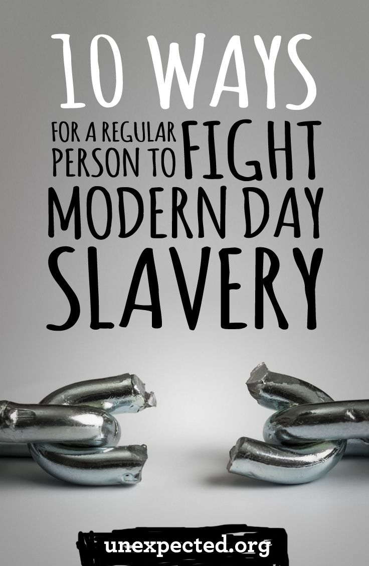 Modern-Day Slavery: A Necessary Beat—With Different Challenges