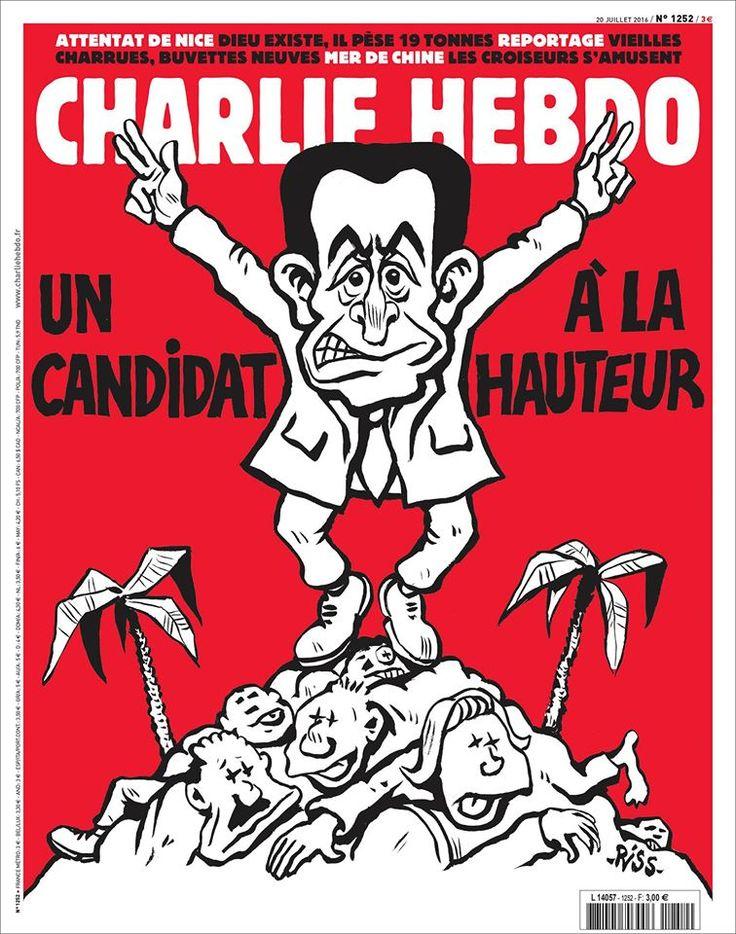 Charlie Hebdo - # 1252 - 20 Juillet 2016 - Couverture : Riss