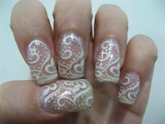 202 best bridal wedding nail art images on pinterest bridesmaids abr by 24120 nail art gallery nailartgalleryilsmag by nails magazine www prinsesfo Image collections