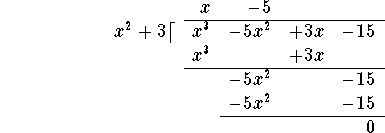 Long Division notes and example