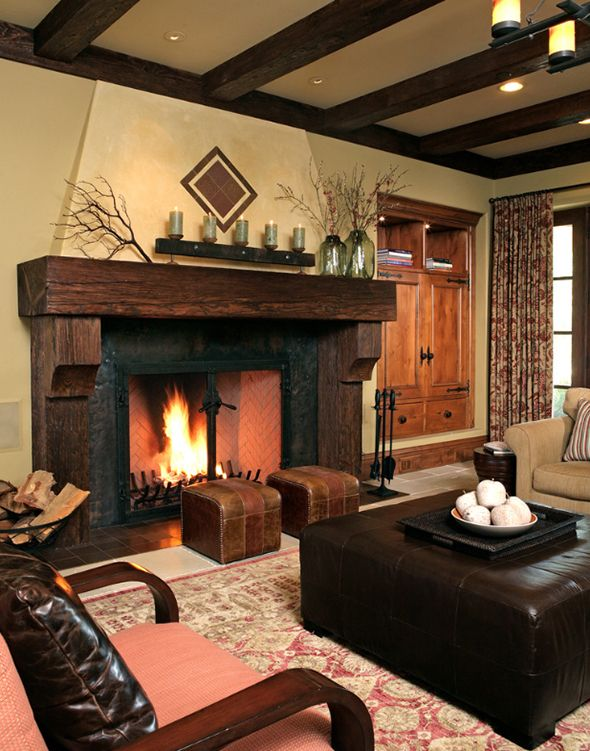 Rustic Fireplaces Design. See More. Best Fireplace of 2013