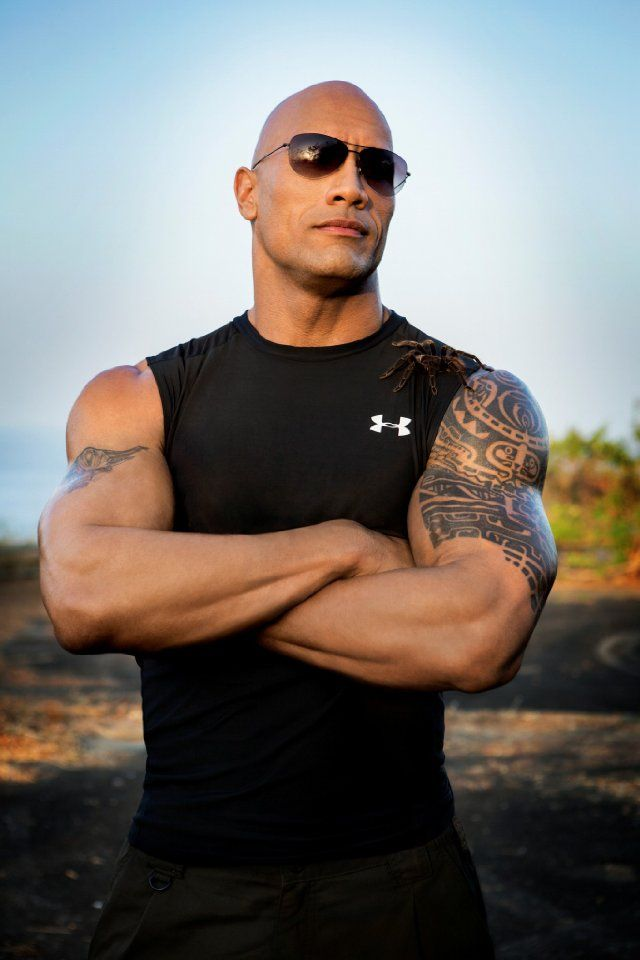 "Dwayne ""the rock"" Johnson, yes please"
