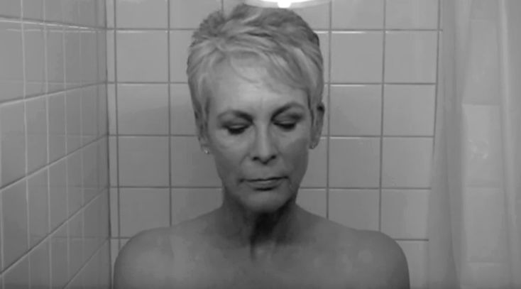 Jamie Lee Curtis Recreates Mom's 'Psycho' Shower Scene!