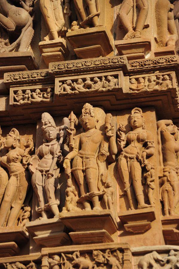 Stone Carvings, Khajuraho
