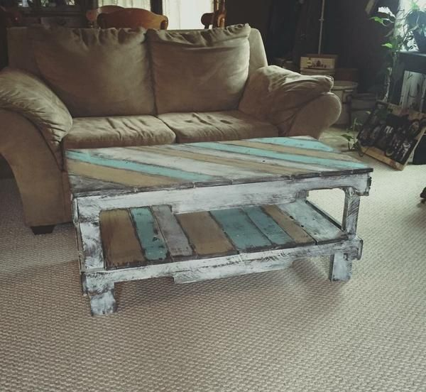This coffee table had a great design and the color turned out great. This table can be customized to fit your wants or needs. *For a shipping quote contact us.