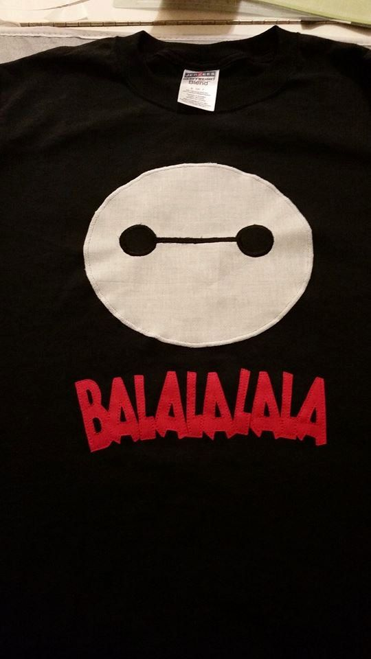 Hey, I found this really awesome Etsy listing at https://www.etsy.com/listing/216863296/baymax-big-hero-6-shirt