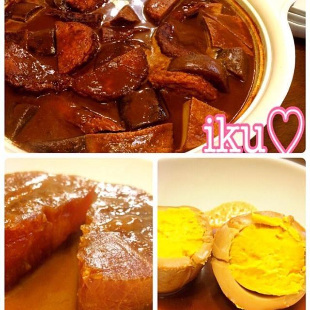 昨日から仕込んだ味噌おでん 大根も卵も味しみしみ♡ 美味しい〜(。>∀<。) - 189件のもぐもぐ - 味噌おでん by ichinana