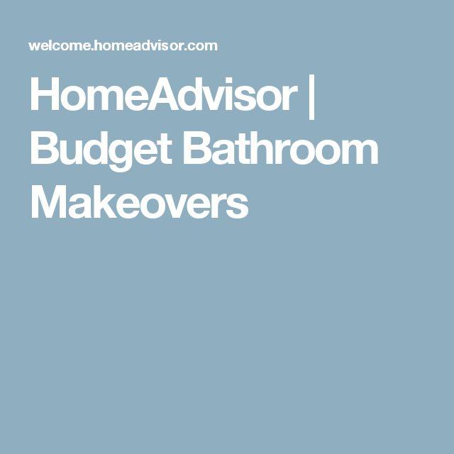 HomeAdvisor   Budget Bathroom Makeovers