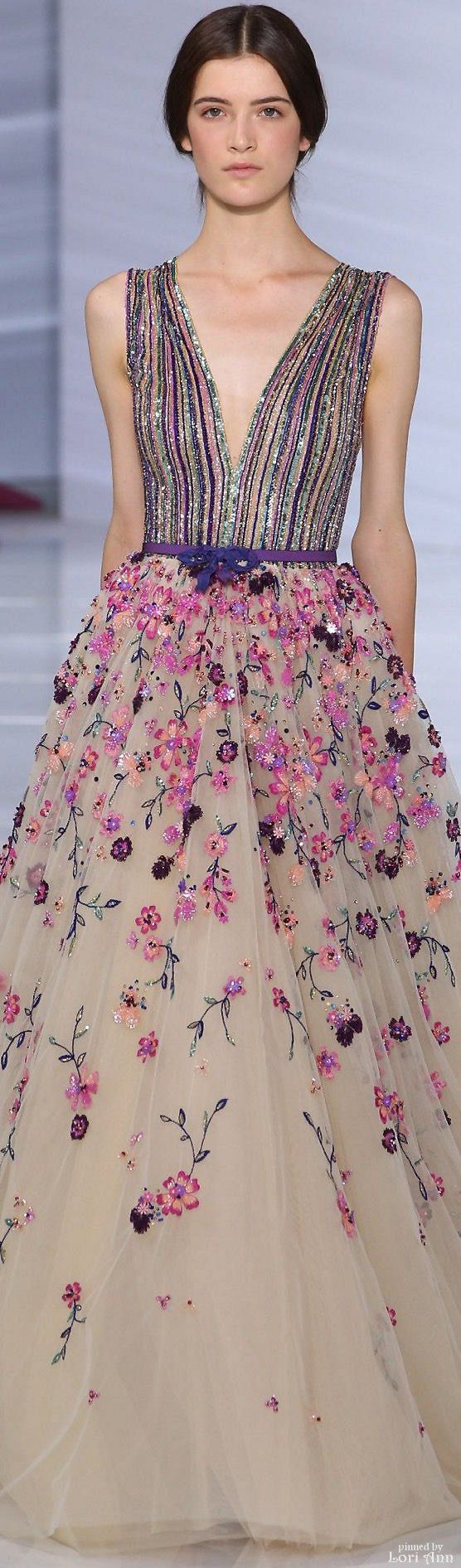Georges Hobeika Couture, fall 2015.