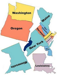 Best US States Notebook Images On Pinterest United States - Free paper us map