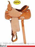 Billy Cook barrel saddle.