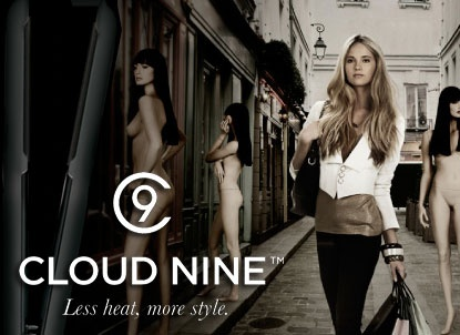 Cloud nine irons the number one technically advanced irons on the market,available in 3 different sizes to suit your hair texture & length.