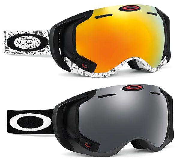Oakley Airwave Goggles lunette de ski snowboard http://oakley.com/airwave