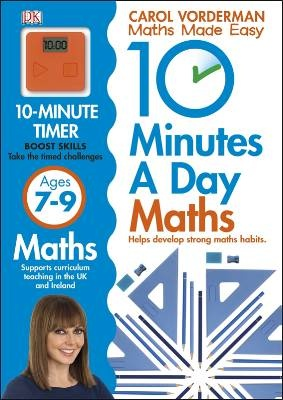 jacket image for 10 Minutes a Day Maths Ages 7-9 by -  Carol Vorderman