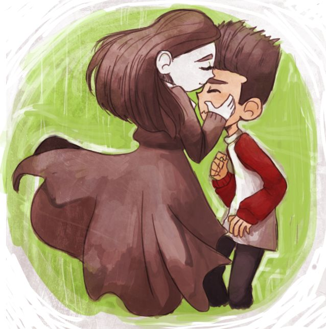 Norman And Coraline Kiss: The Final Comic Of My ParaNorman Ask Blog Asknorgathatumblr
