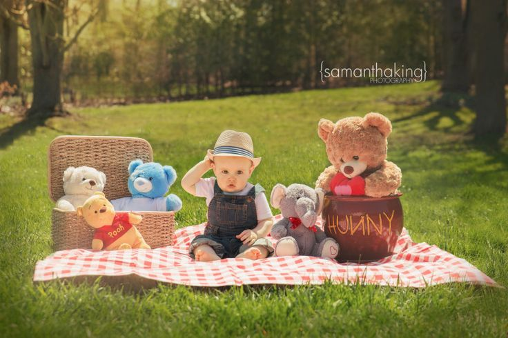 ©Samantha King Photography Teddy bear picnic theme photo shoot