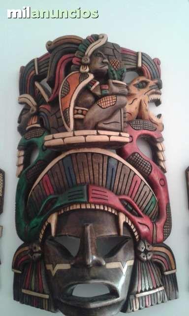 MIL ANUNCIOS.COM - Exclusivas 3 mascaras mayas