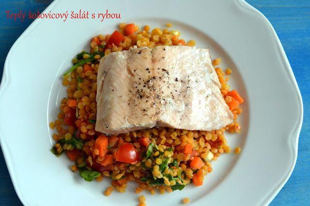 FOODEPENDENCE: Teplý šošovicový šalát s rybou.